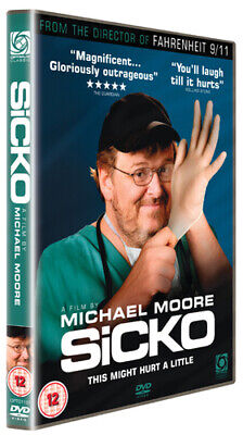 Sicko DVD (2008) Michael Moore cert 12 Highly Rated eBay Seller, Great Prices
