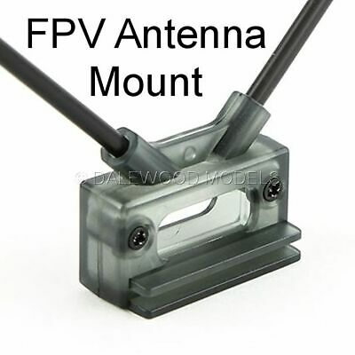 Antenna Mount Fpv Receiver Dual 45deg Direct or Clip Mount