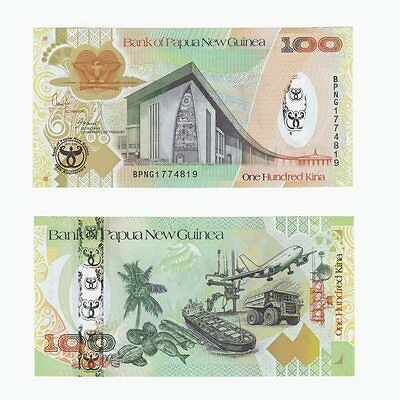 PAPUA NEW GUINEA - 100 Kina (Bank's 35th Anniversary issue) P37a - UNC.