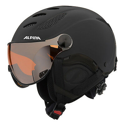 Alpina Jump JV black matt Visier Skihelm Art. A9037.x.32