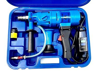 wet core drill 2 speed hand held core drill with Electronic overload protection