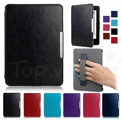 Ultra Slim Magnetic Leather Smart Case Cover for Amazon Kindle Paperwhite 1 2 3