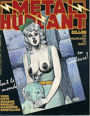Metal Hurlant N° 26 Margerin Voss Manoeuvre Gillon Druillet Lob Claveloux...