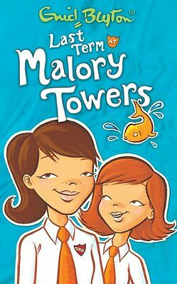 Last Term at Malory Towers By Enid Blyton. 9781405224086