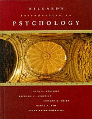 Introduction to Psychology By Rita L. Atkinson,etc.