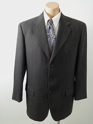 Joseph Abboud Mens Olive Brown 100% Wool Blazer Suit Jacket Sport Coat Size 40 R
