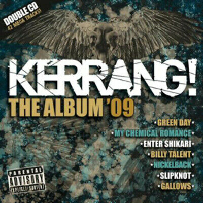 Various Artists : Kerrang! The Album '09 CD 2 discs (2009) Fast and FREE P & P