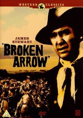 Broken Arrow DVD (2005) James Stewart, Daves (DIR) cert PG Fast and FREE P & P