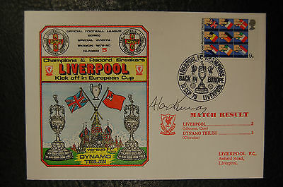 Alan Kennedy  Liverpool 1979 European Cup  Signed Cover