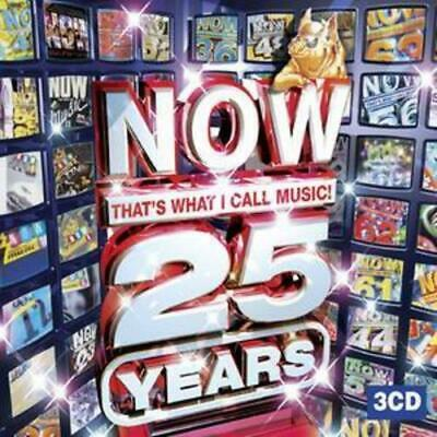 Various Artists : Now That's What I Call Music 25 Years CD (2008)
