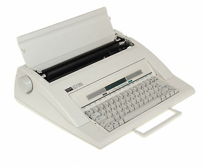 Nakajima  Electronic Portable Typewriter AX-160 With Memory & Display