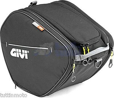 Borsa da tunnel scooter UNIVERSALE Easy Bag 15lt con tasche laterali Givi ea105b