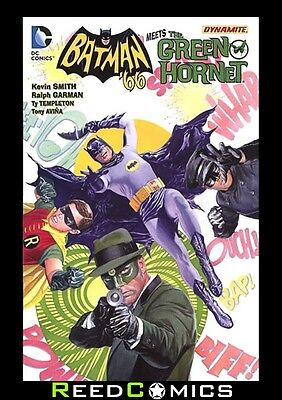 BATMAN 66 MEETS THE GREEN HORNET GRAPHIC NOVEL New Paperback Collects #1-6