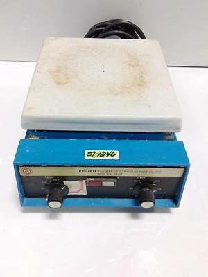 Fisher Thermix 115V 8.7A 60Hz Stirring Hot Plate Model 210T