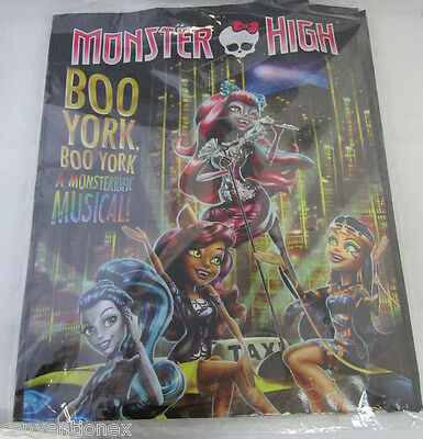 SDCC Comic Con 2015 Exclusive Monster High Boo York Tote Bag