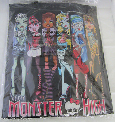 SDCC Comic Con 2015 Exclusive Monster High Skull Group Double Sided Tote Bag