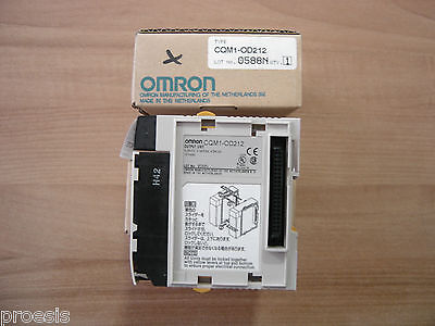 OMRON CQM1-OD212 output module transistor 16 points 24VDC common