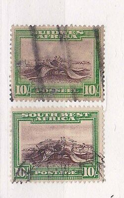 1931 SG 84 two diff.stamps         b36