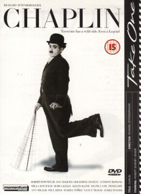 Chaplin DVD (2002) Robert Downey Jr, Attenborough (DIR) cert 15 Amazing Value