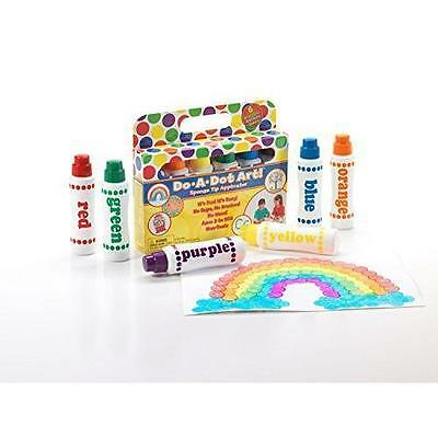 Do A Dot Art! Markers 6-Pack Rainbow Washable Paint Markers (DOADOT-101-6) NEW