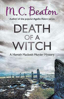 Death of a Witch by M. C. Beaton (Paperback) New Book