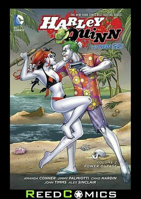 HARLEY QUINN VOLUME 2 POWER OUTAGE GRAPHIC NOVEL Paperback Collect (Vol 2) #9-13