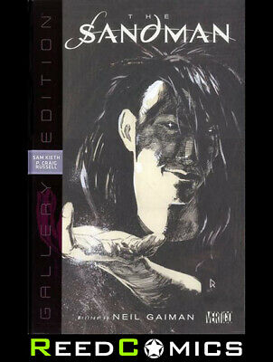 SANDMAN GALLERY EDITION OVER-SIZED HARDCOVER New Boxed Sealed Artist Hardback