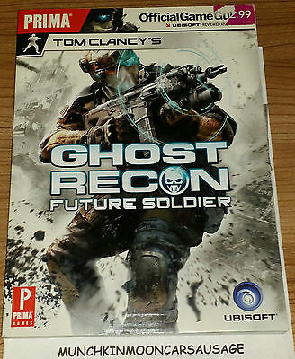 Ghost Recon Future Soldier Official Prima Strategy Guide New PS3 XBox 360