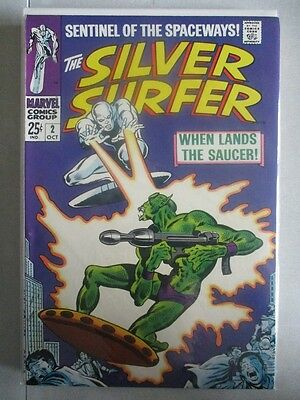 Silver Surfer Vol. 1 (1968-1970) #2 VF/NM