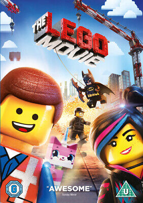 The LEGO Movie DVD (2014) Phil Lord cert U Incredible Value and Free Shipping!