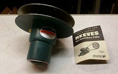 NEW Reeves Variable Speed Pulley Size 7202 H95226 3/4 Bore H-512 (LOC1160)