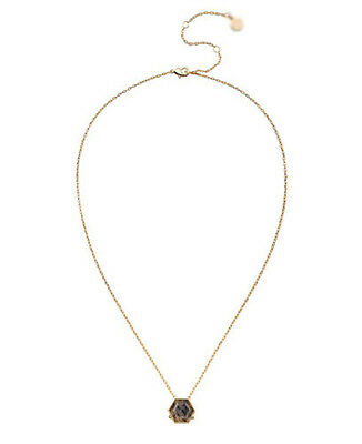 Gold/Silver Women's Gold Plated Nova Resin Dot Pendant Necklace