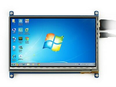 7inch HDMI 1024x600 Capacitive Touch Screen LCD for Raspberry Banana Pi/BB Black