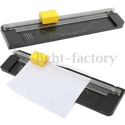 A4 Precision ROTARY PAPER PHOTO CARD CUTTER TRIMMER GUILLOTINE CRAFT + 3 BLADES