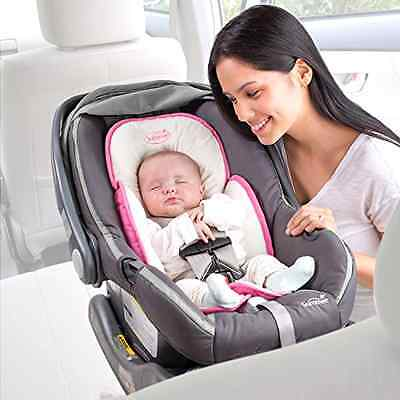 Pink Infant Head Support Car Seat Stroller Baby Pillow Neck Travel Safety Body