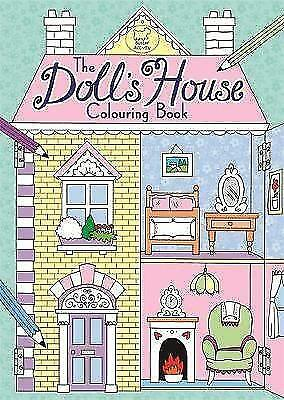 Doll's House Colouring Book - Art Therapy - Brand New