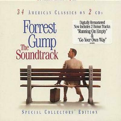 Various : Forrest Gump: The Soundtrack;SPECIAL COLLECTORS' EDITION CD 2 discs
