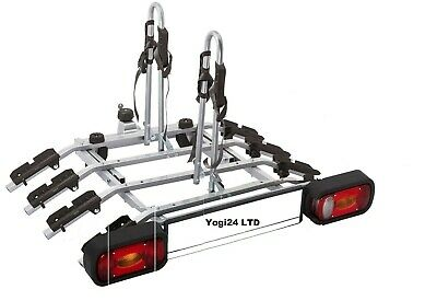 Platform 4 - black, Towbar Mounted 4 Bike Rack / Four Cycle Carrier 4x4