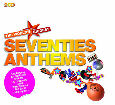Various Artists : Seventies Anthems CD (2011)