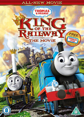 Thomas & Friends: King of the Railway DVD (2013) Rob Silvestri cert U