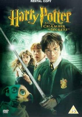 Harry Potter and the Chamber of Secrets DVD (2003) Daniel Radcliffe, Columbus
