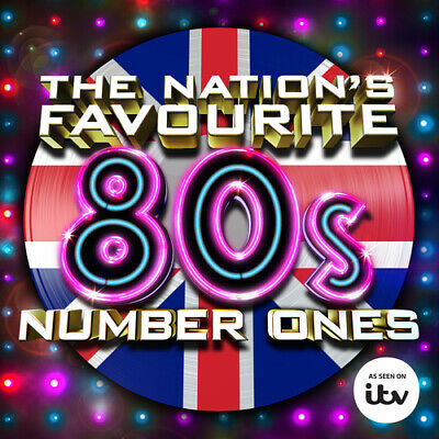 Various Artists : The Nation's Favourite 80s Number Ones CD 3 discs (2015)