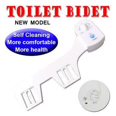 Toilet Bidet Seat Spray Hygeian Water Wash Clean Unisex Bathroom Shattaf Shower