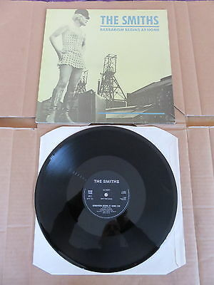 "THE SMITHS Barbarism Begins At Home ROUGH TRADE 12"" UK ONE SIDED PROMO MORRISSEY"