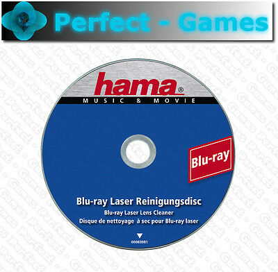 Disque de nettoyage laser HAMA Blu-ray Lens cleaner cleaning disc SONY PS3 PS4