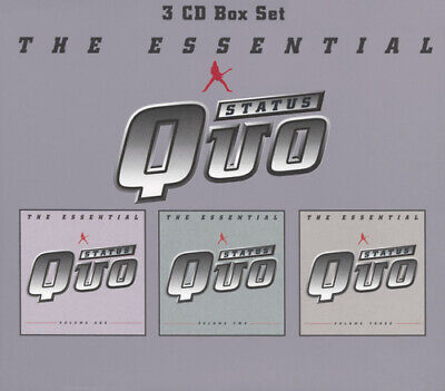 Status Quo : The Essential: Volume One;Volume Two;Volume Three CD (2001)