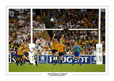 Jonny Wilkinson World Cup 2003  A4 Print Photo England Rugby Union 2015 Johnny