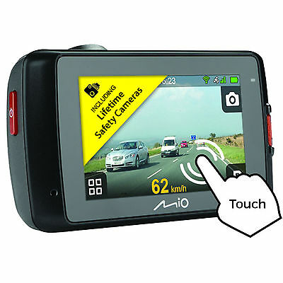 Mio MiVue 658 Touch WiFi TouchScreen InCarCam GPS HDR Dashcam Accident Recorder