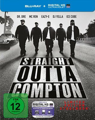 Straight Outta Compton - Limited Steelbook Edition / Directors Cut # BLU-RAY-NEU