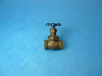 "Nibco 66 Stop Valve w/ Drain 1/2"" Threaded Connections 150 WOG"